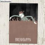 Postkarte Brennsuppn