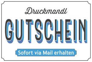 Druckmandl Gutscheine bayrische Shirts