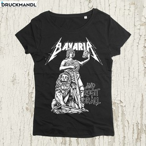 Bavaria and prosit for all Girlyshirt