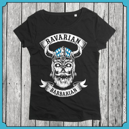 Girlyshirt Bavarian Barbarian