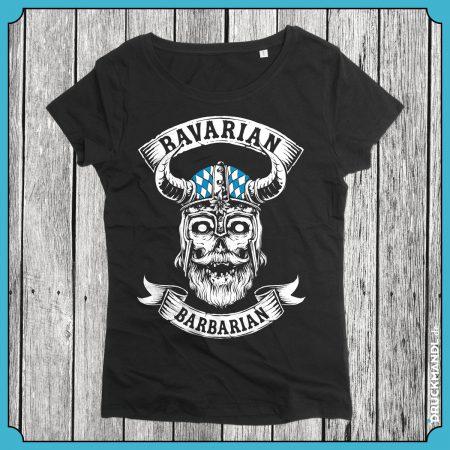 Girlyshirt Bavarian Barbarian