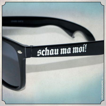 bayerische Sonnenbrille