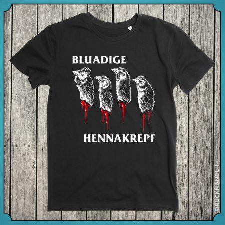 Bayrisches Shirt Bluadige Hennakrepf