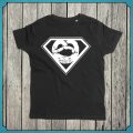 T-Shirt Superbrezn schwarz Kids