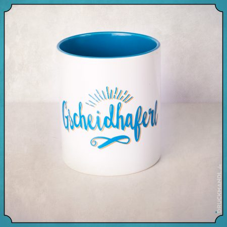 Gscheidhaferl - bayerische Tasse