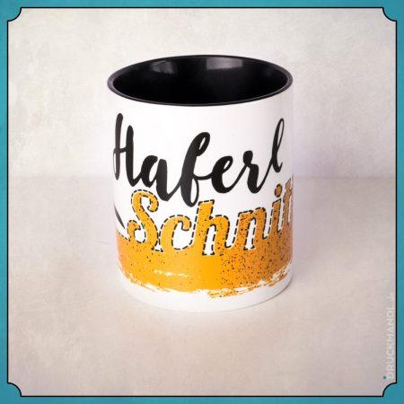 Haferlschnitt - bayerische Tasse