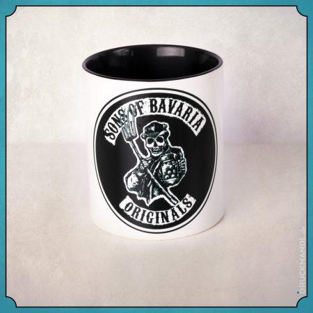 Sons of Bavaria Logo Haferl - bayerische Tasse