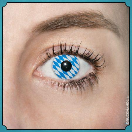 bayrische Kontaktlinsen Detail