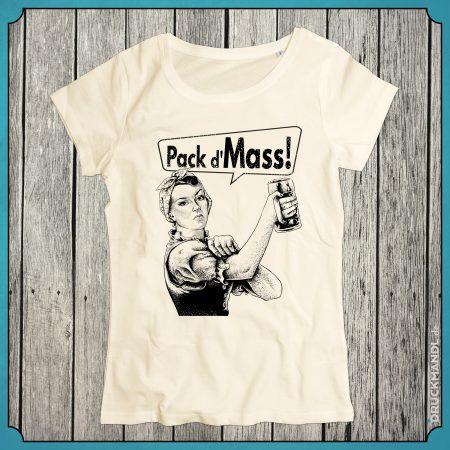 T-Shirt Rosi natural Damen
