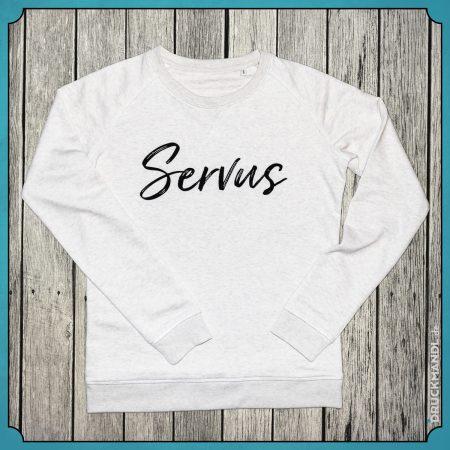 Rundhals Sweatshirt Servus Damen