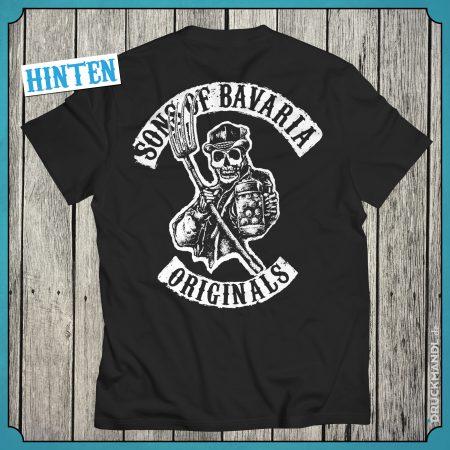 T-Shirt Sons of Bavaria Originals Herren hinten