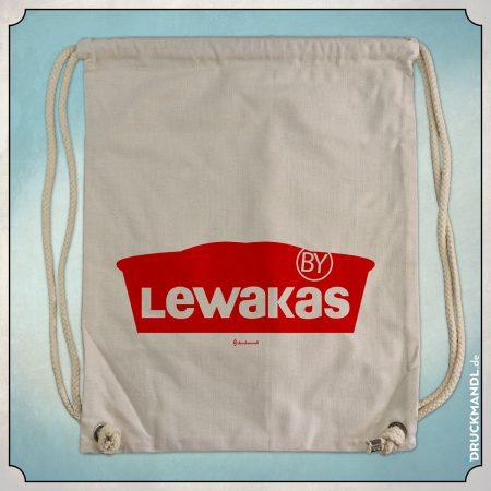 Lewakas - bayrischer Beutel von Druckmandl