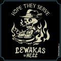 Lewakas in hell - bayrisches Shirtmotiv Druckmandl