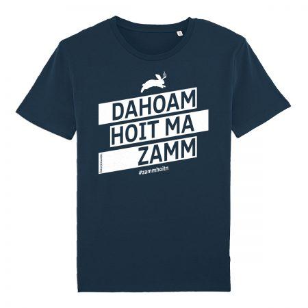 Bayrisches Shirt Dahoam hoit ma zamm #zammhoitn