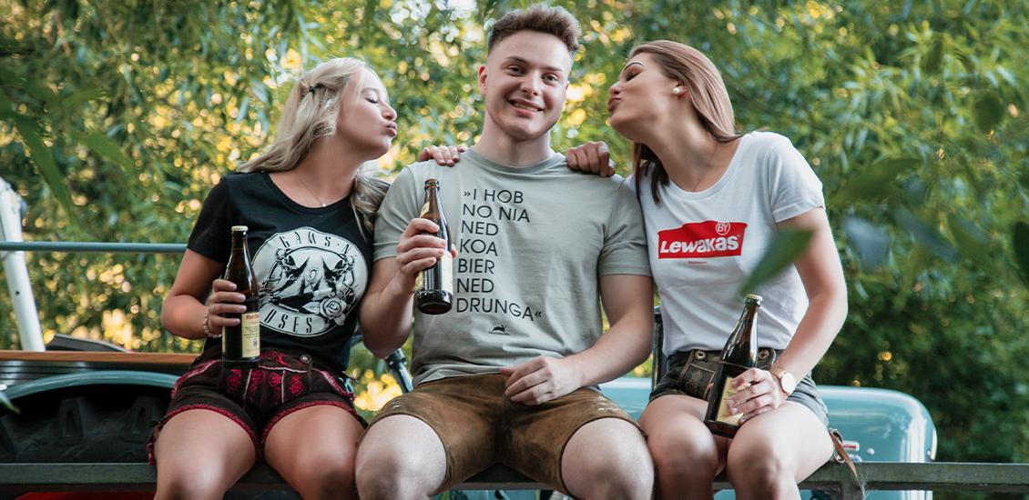 Druckmandl - bayerische T-Shirts