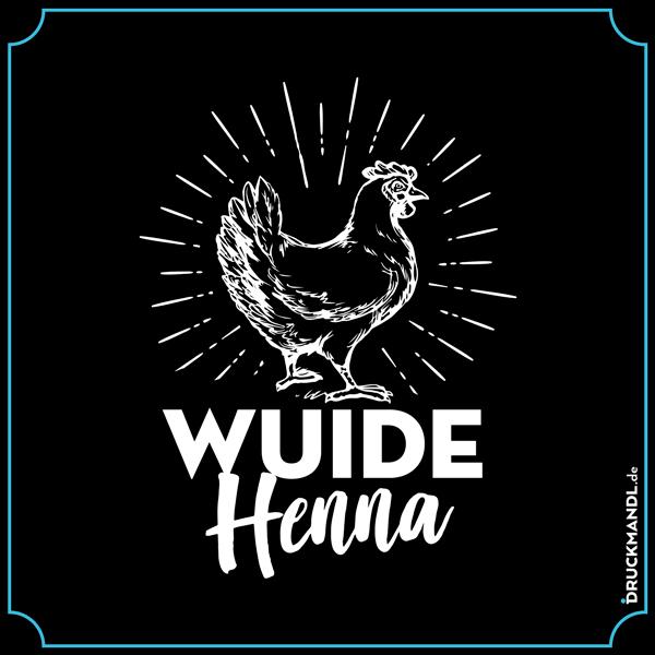 Wuide Henna - bayerisches Shirt Druckmandl